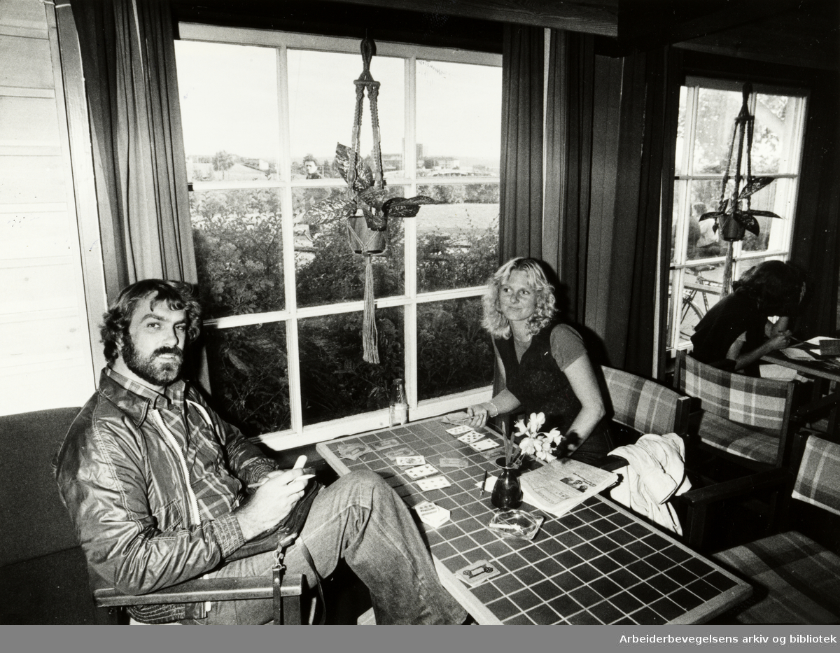 Haraldsheim vandrerhjem. Juli 1979
