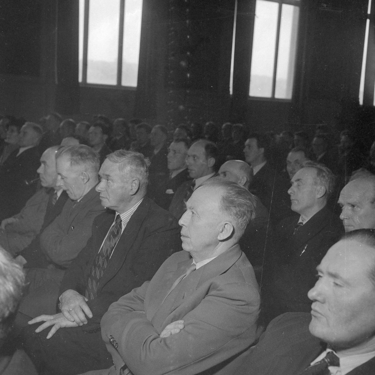 Foredrag om potet under Landbruksuka 1953