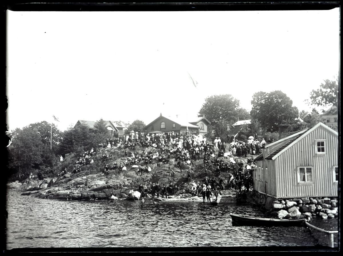 """Enligt text som medföljde bilden: """"Gustavsberg kappseglingen Aug 09""""."""