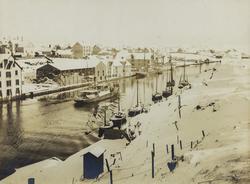 Smedasundet sett mot sydøst, ca. 1905.