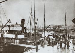 Krossen sett mot syd, ca. 1908.