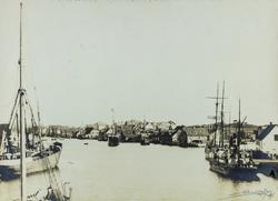 Smedasundet, Krossen, sett mot sydvest, ca. 1900.