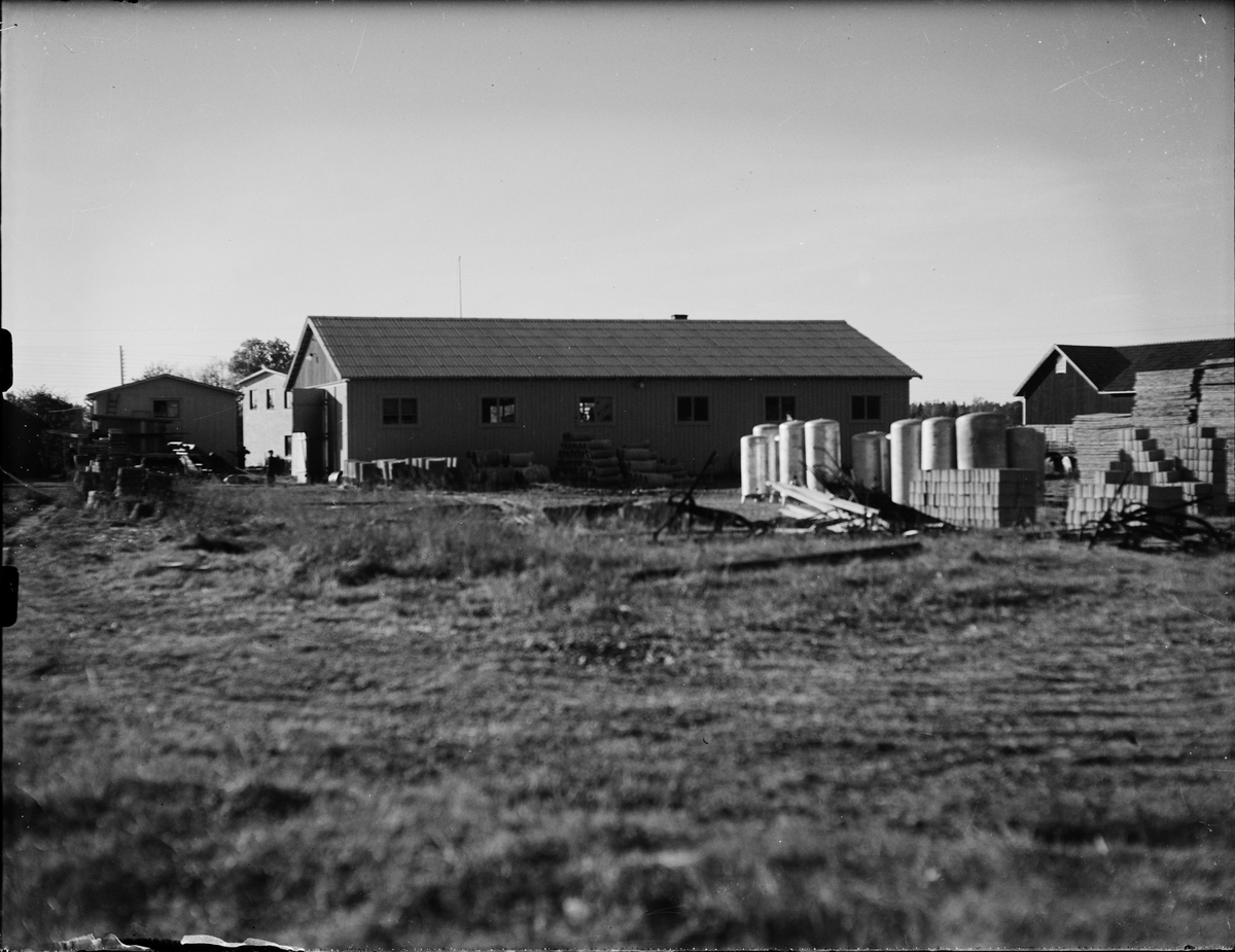 Förrådsbyggnader, Landberg Järn- & Färghandel, Norrskedika, Börstil socken, Uppland