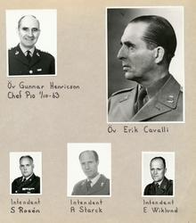 Södermanlands regemente. Kameralenheten