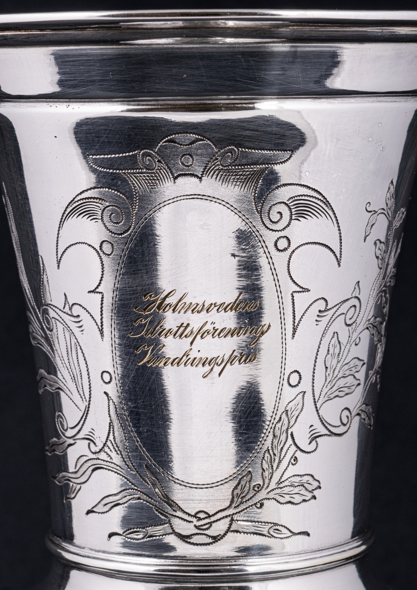 Pokal i silver.