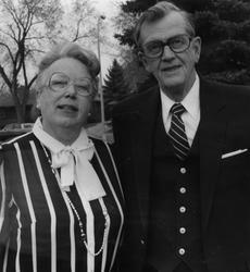 Ektepar Frances og Oscar Sather