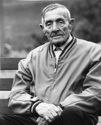 Portrett av eldre mann - Richard Nymo (født 1890)