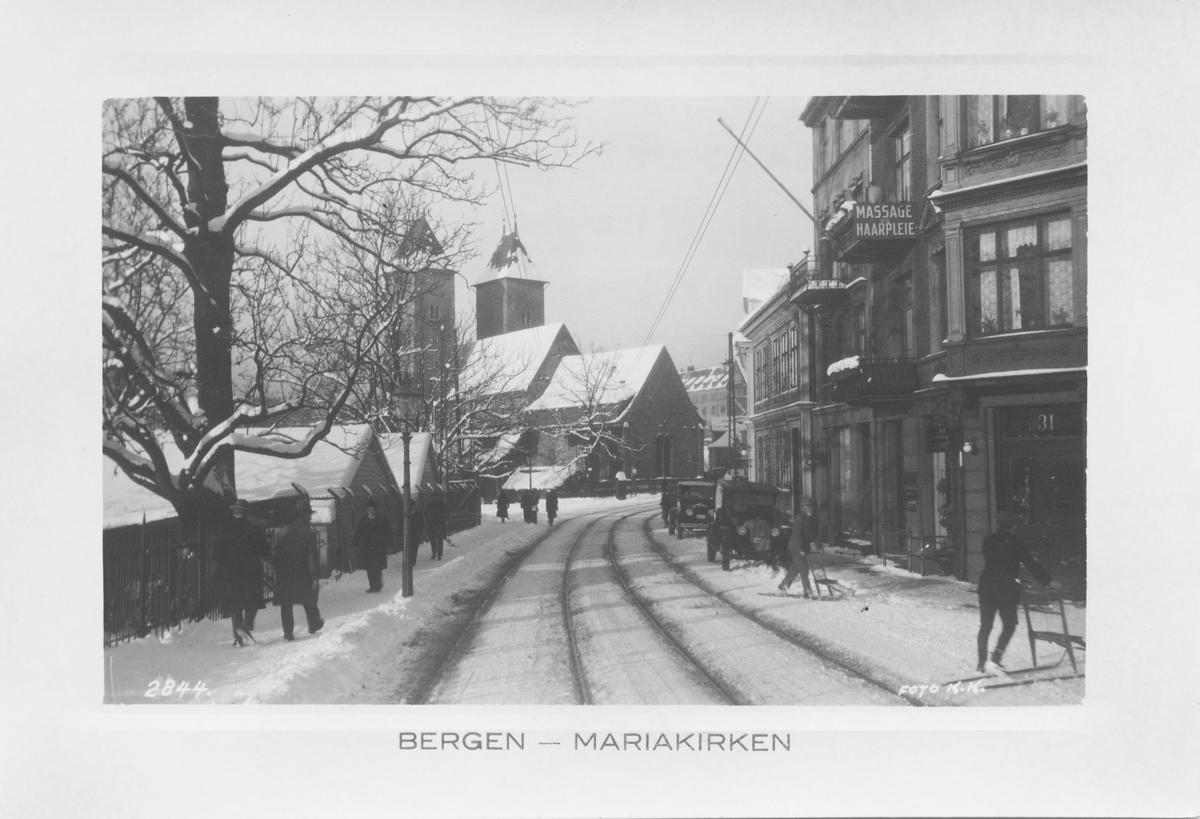 Bergen. Mariakirken