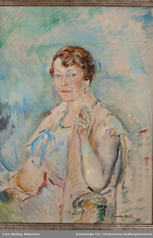 Portrett av Ingrid Christensen
