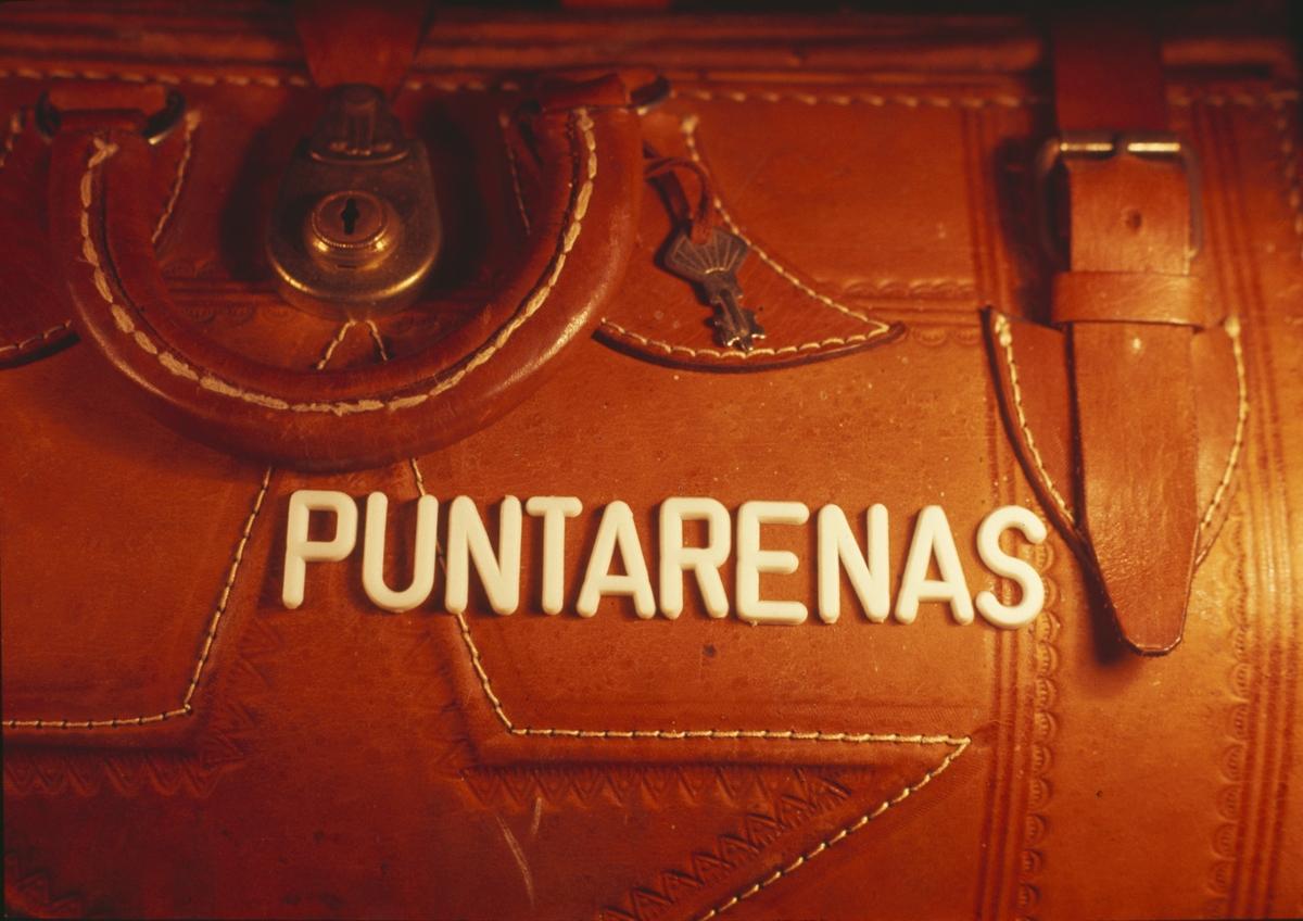 Bildserie från Punta Arenas (Costa Rica) under Älvsnabbens långresa år 1966-67.