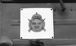 Militärmästerskap Motor. Fordonsskylt, I 3.