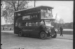 Dubbeldäckare, NK bussen. Stockholmsutställningen
