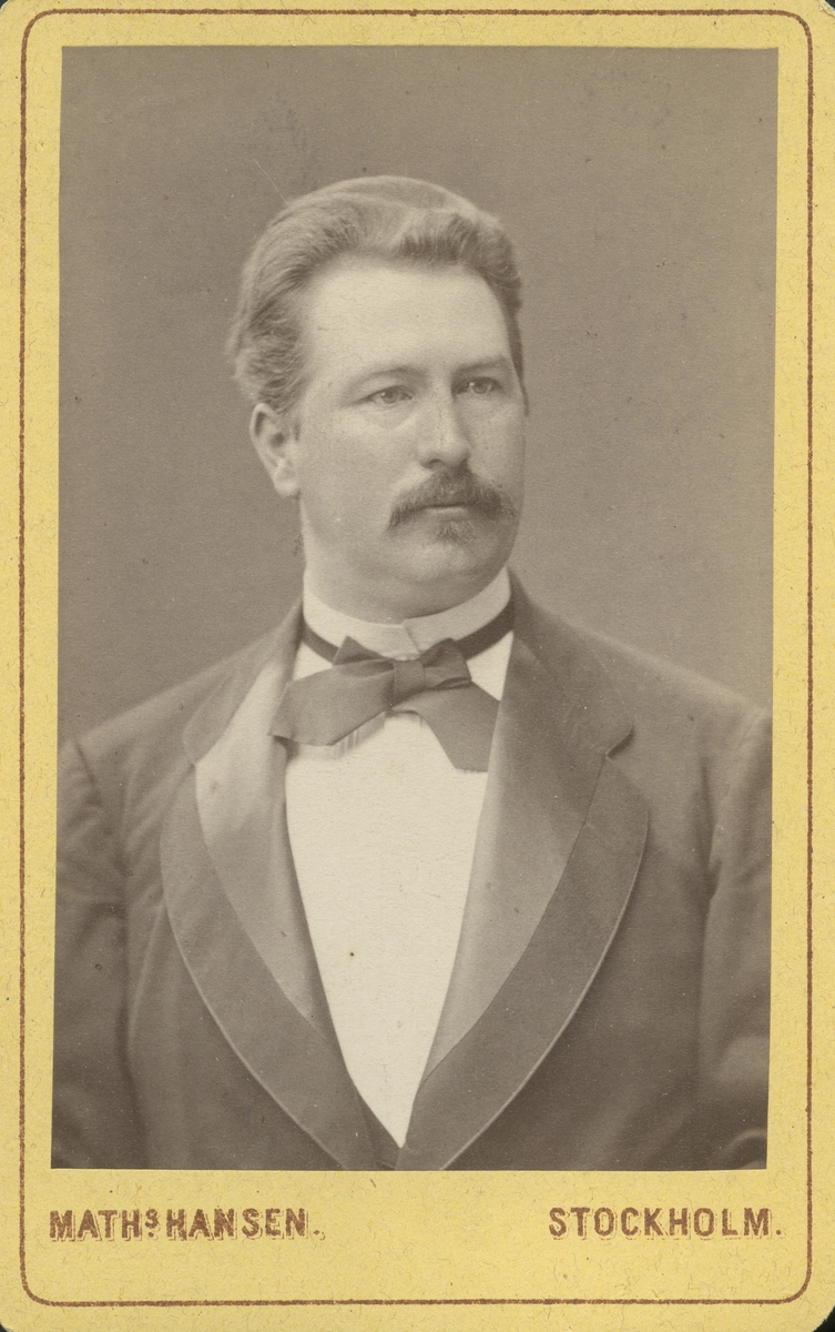 Apotekare Carl Berlin.