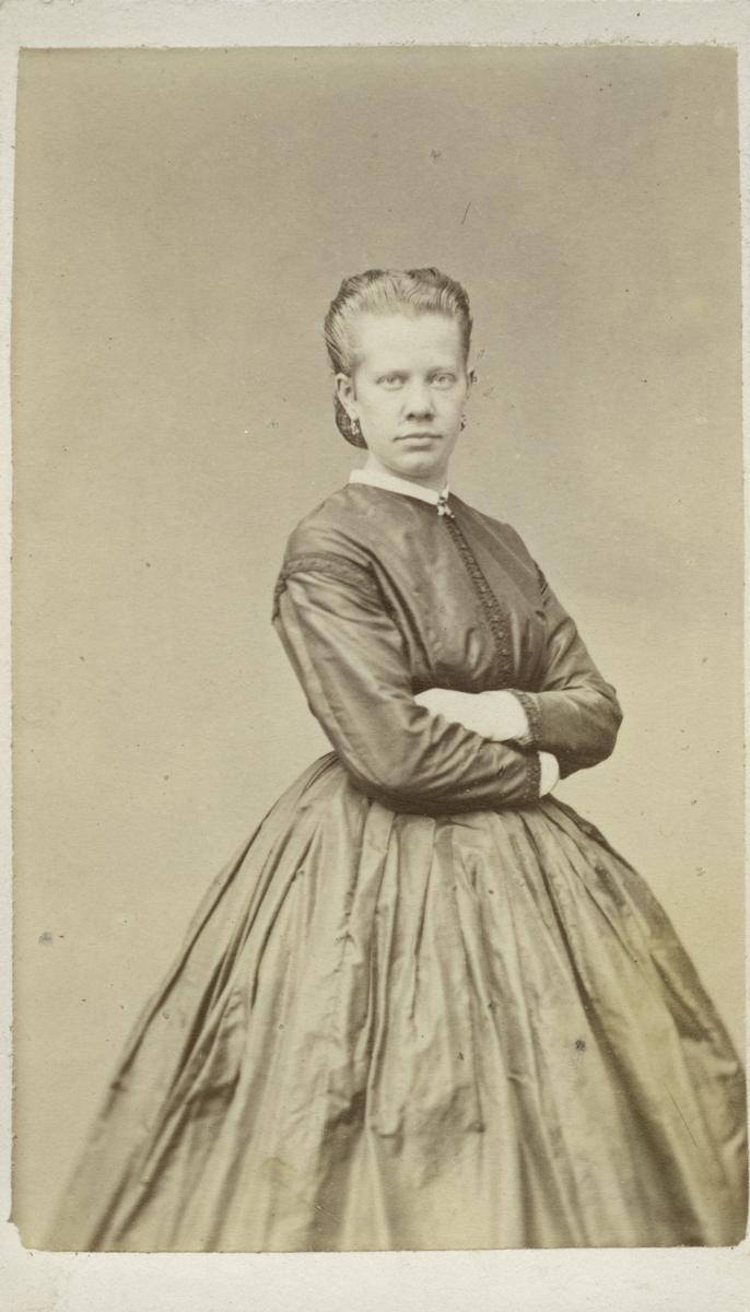Kvinnoporträtt.