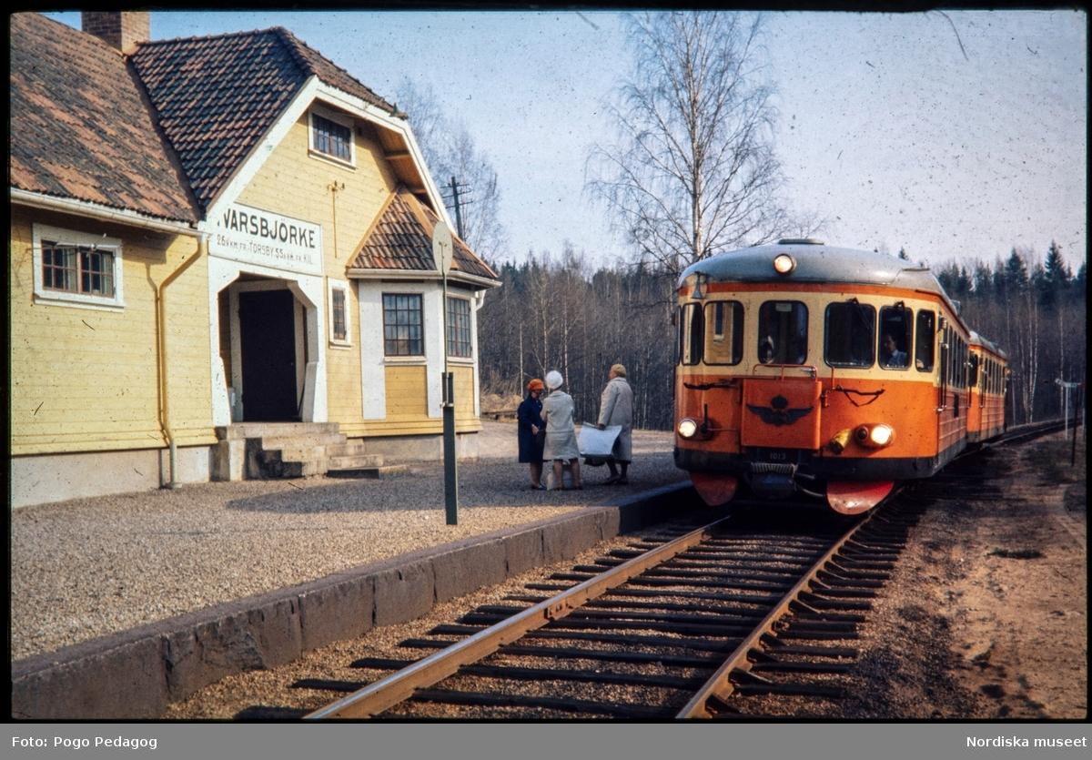 Landstransport med tåg