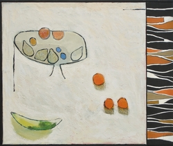 Stilleben med gurka [Målning]