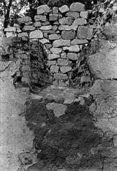 Fönstren i tornets södra sida, Stora Rytterne kyrkoruin i Lu