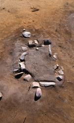 Stensättningen G3 på gravfältet RAÄ Barnarp 171, L1971:1158