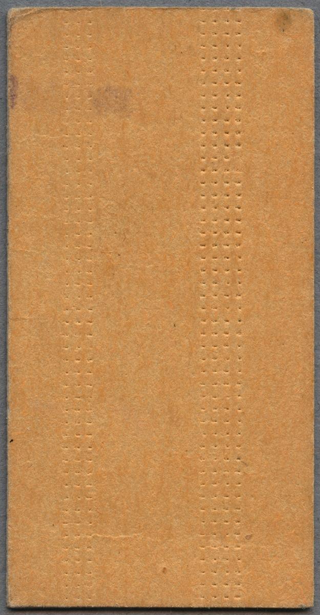 Biljett från AB Storstockholms lokaltrafik (SL) mellan Karlberg, Stockholm C och Upplands Väsby. Biljetten är utfärdad 1968-06-27 och kostade 2,20 kronor.