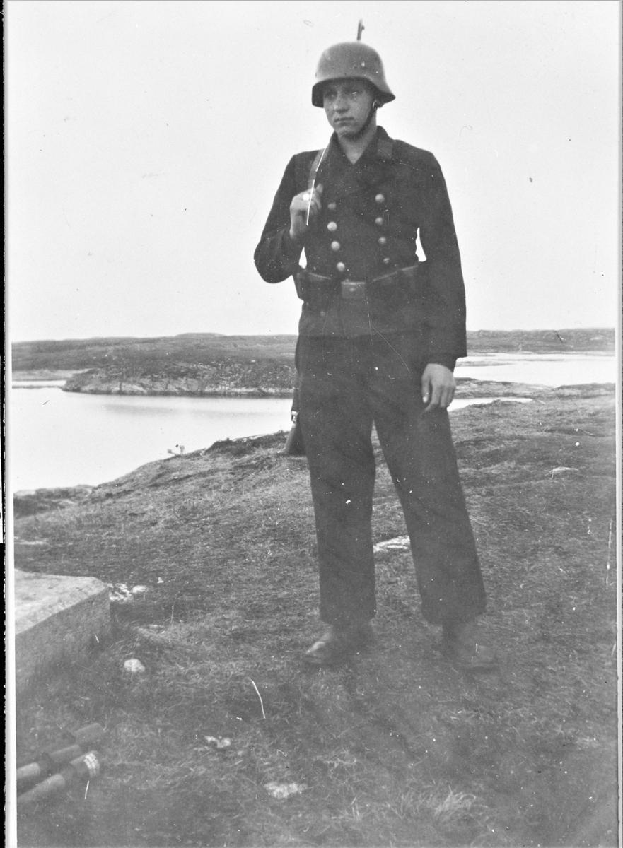 En tysk marinesoldat på Tarva