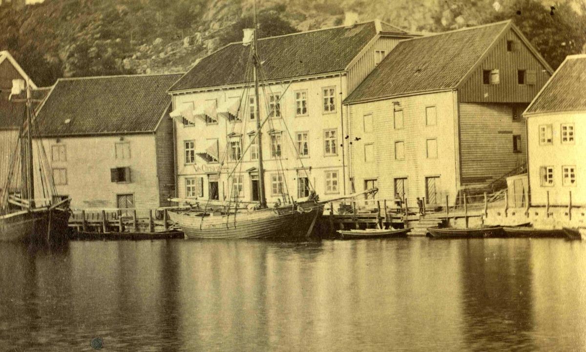 Arendal og omegn - Fra John Ditlef Fürst fotoalbum - Langbryggen  - AAks 44 - 4 - 7 - Bilde nummer 27