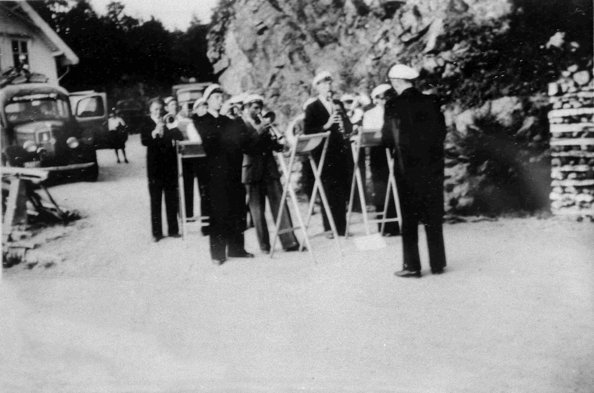 Bilder fra Birkenes kommune Hornmusikken i Herefoss
