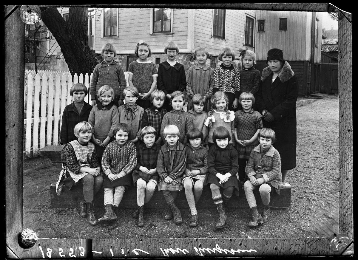 Grimstad barneskole Klassebilde