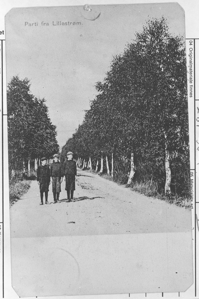 Tre gutter i Storgt. i 1909.