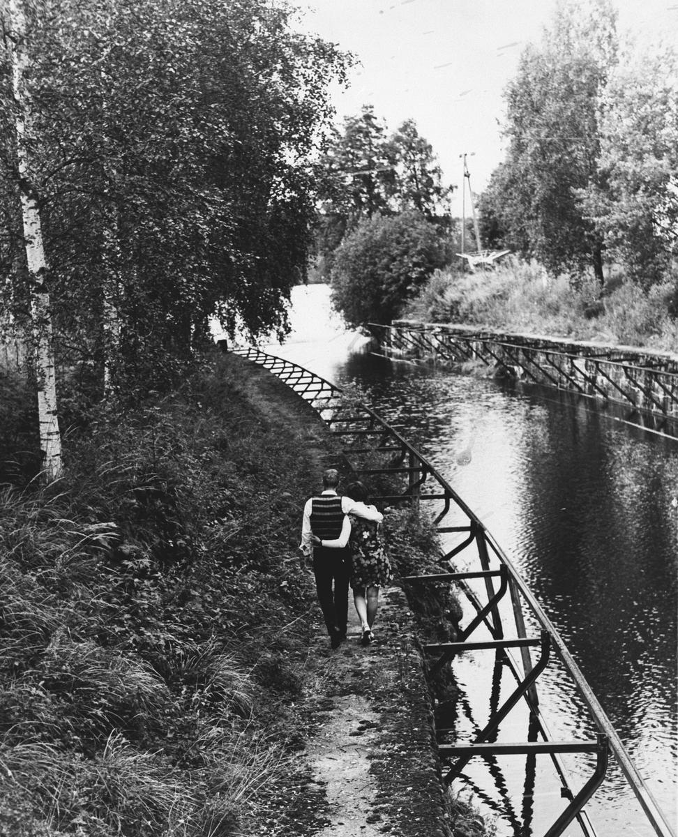 Slusekanalen ved Svanfoss.