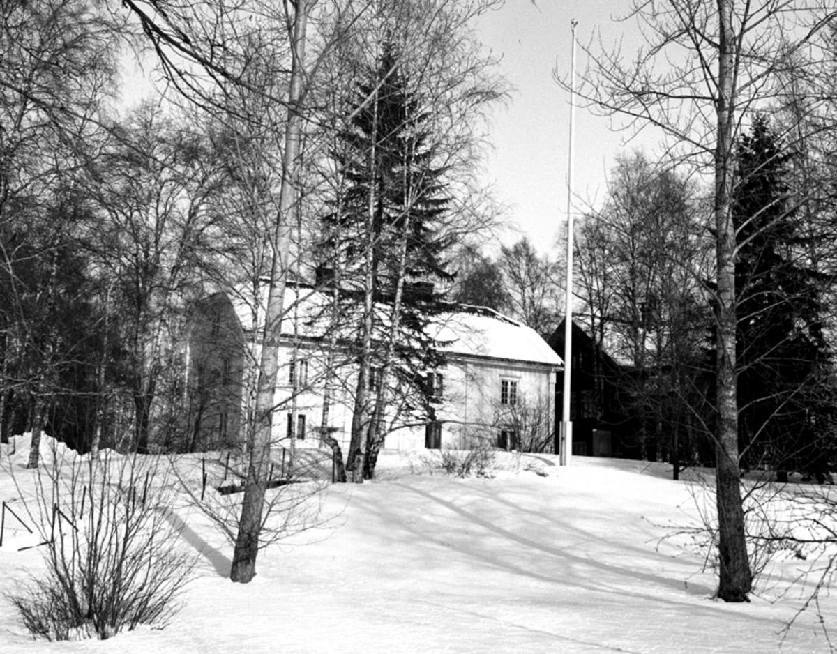 Korsbakken, vinter