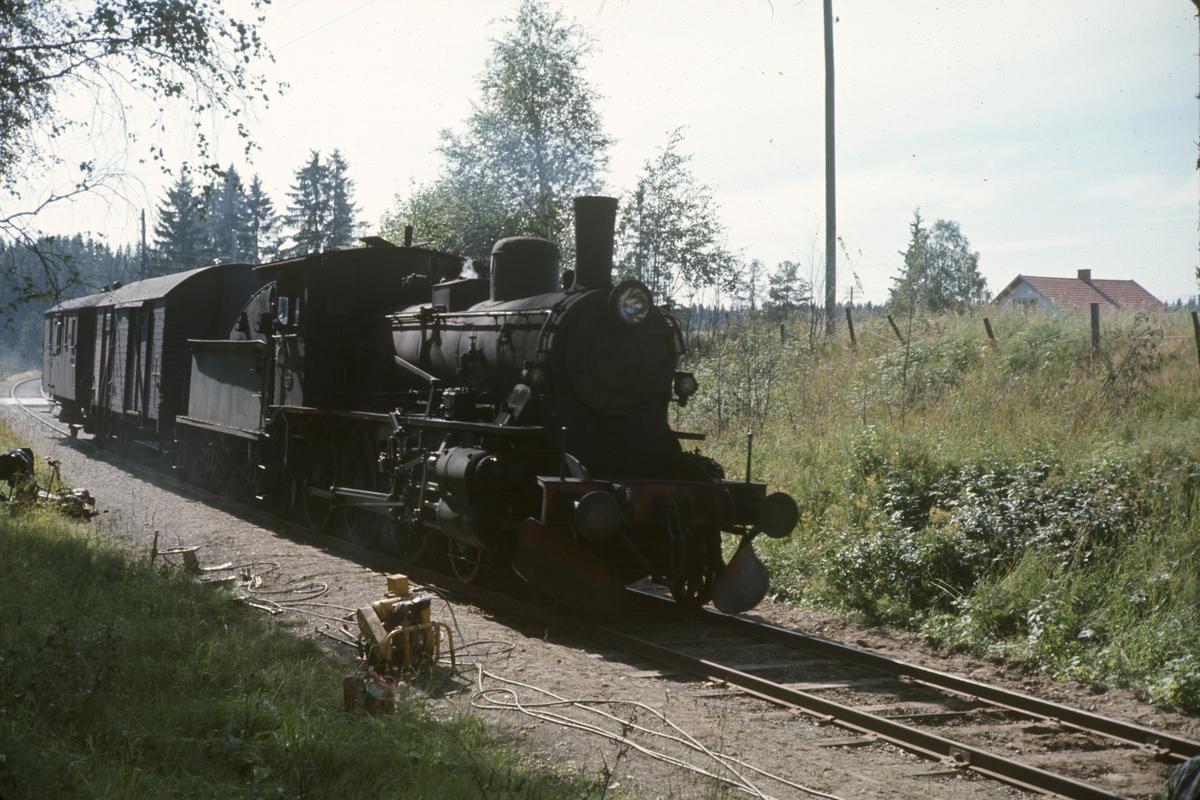 Godstog på Skreiabanen