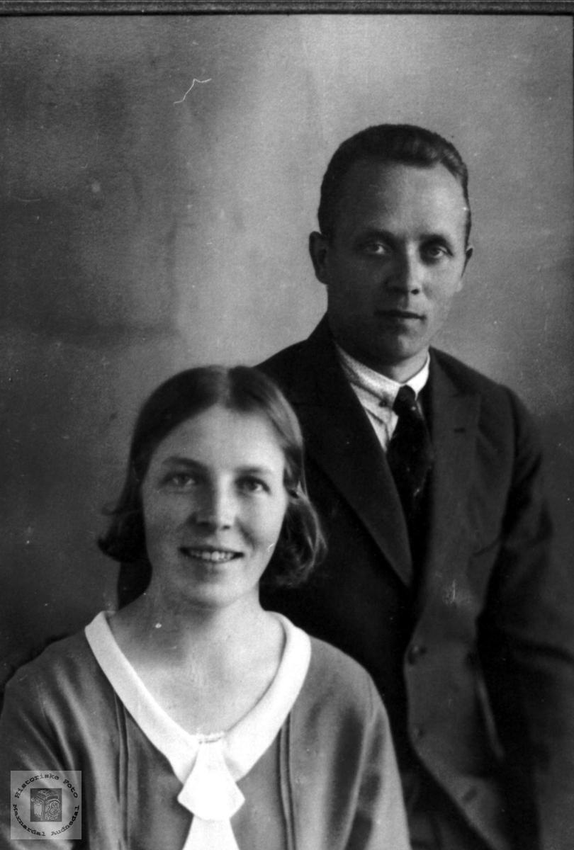 Ekteparet Erlign og Ragnhill Ågedal