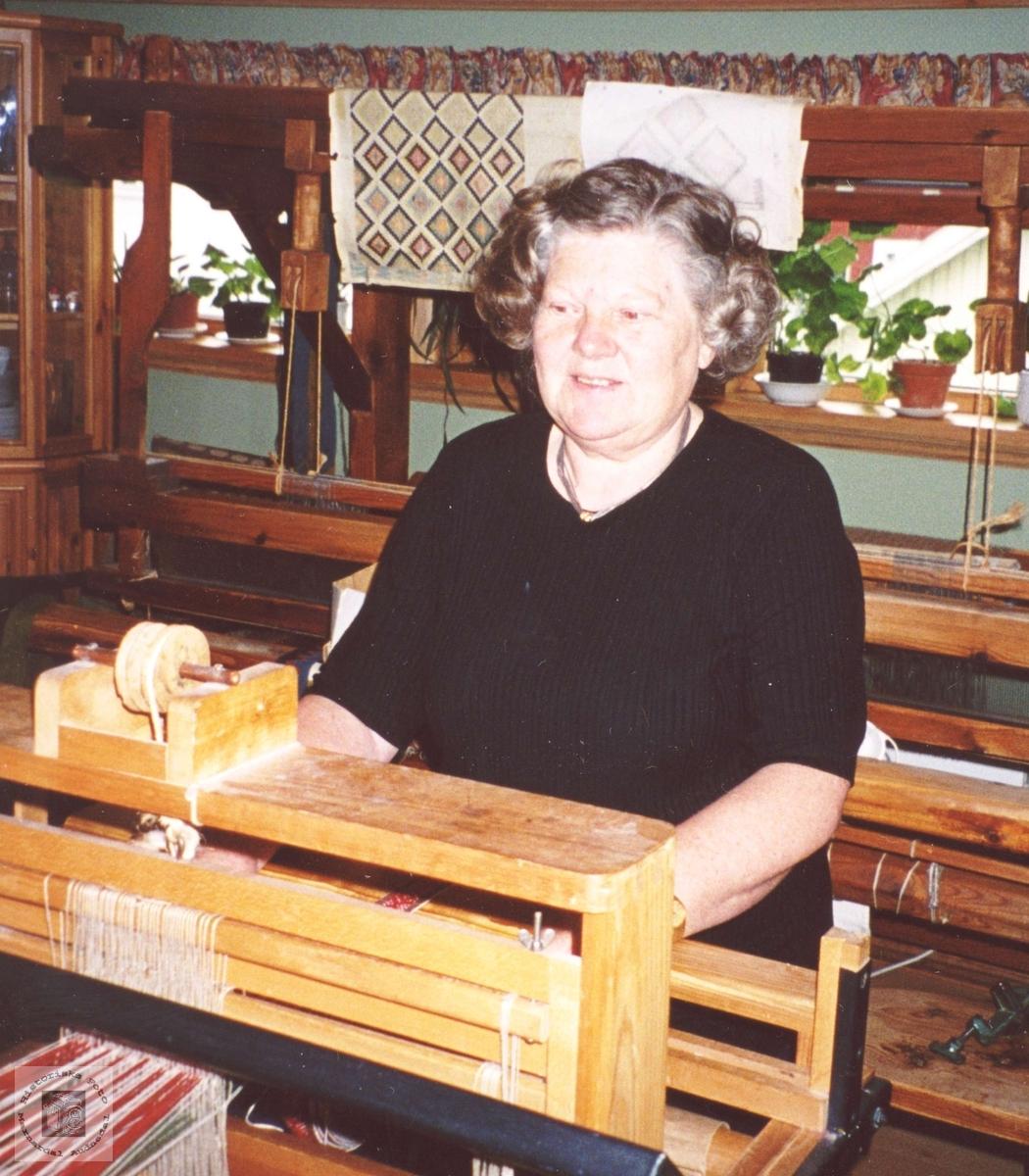 Ragnhild Arnfeldsdtr. Nome, Øyslebø.