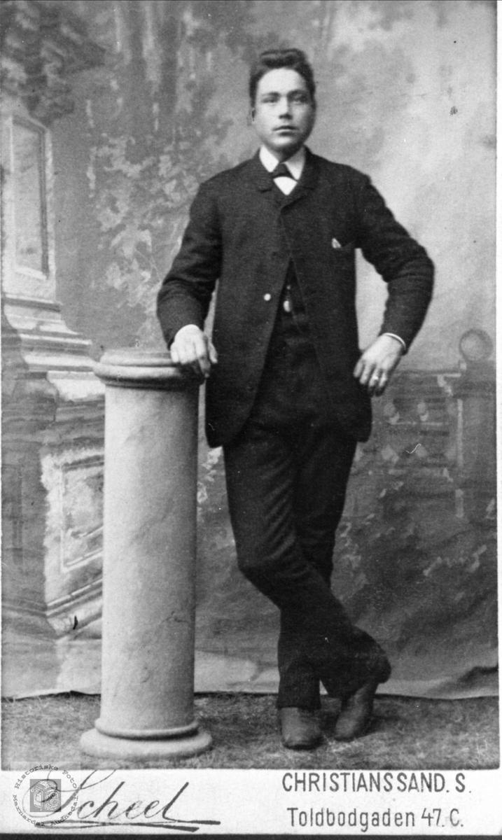 Portrett av Olav Hærås d.y., Finsland.