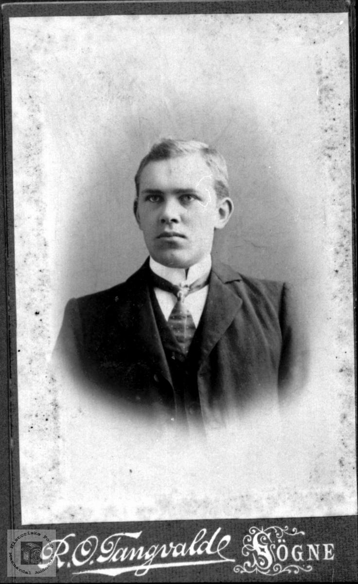 Portrett av Ole Fidjestøl, Øyslebø.