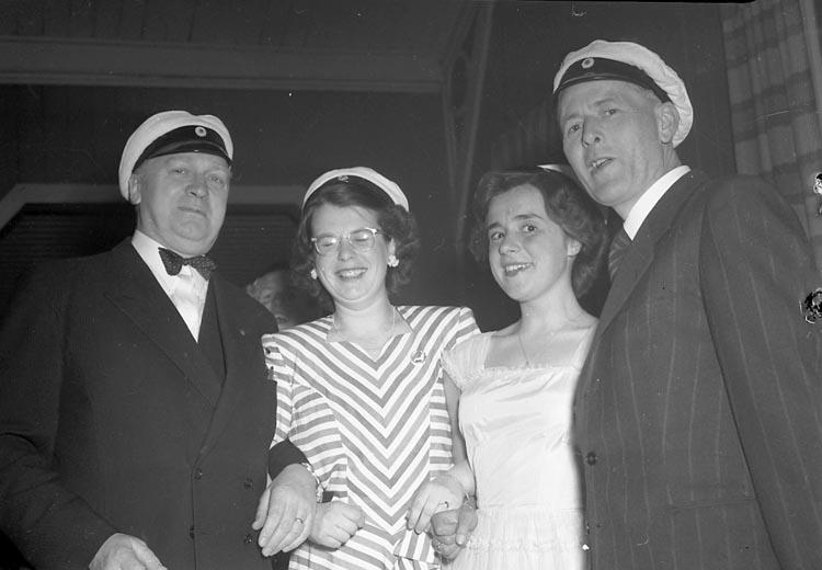 Studentbal Uddevalla våren 1947