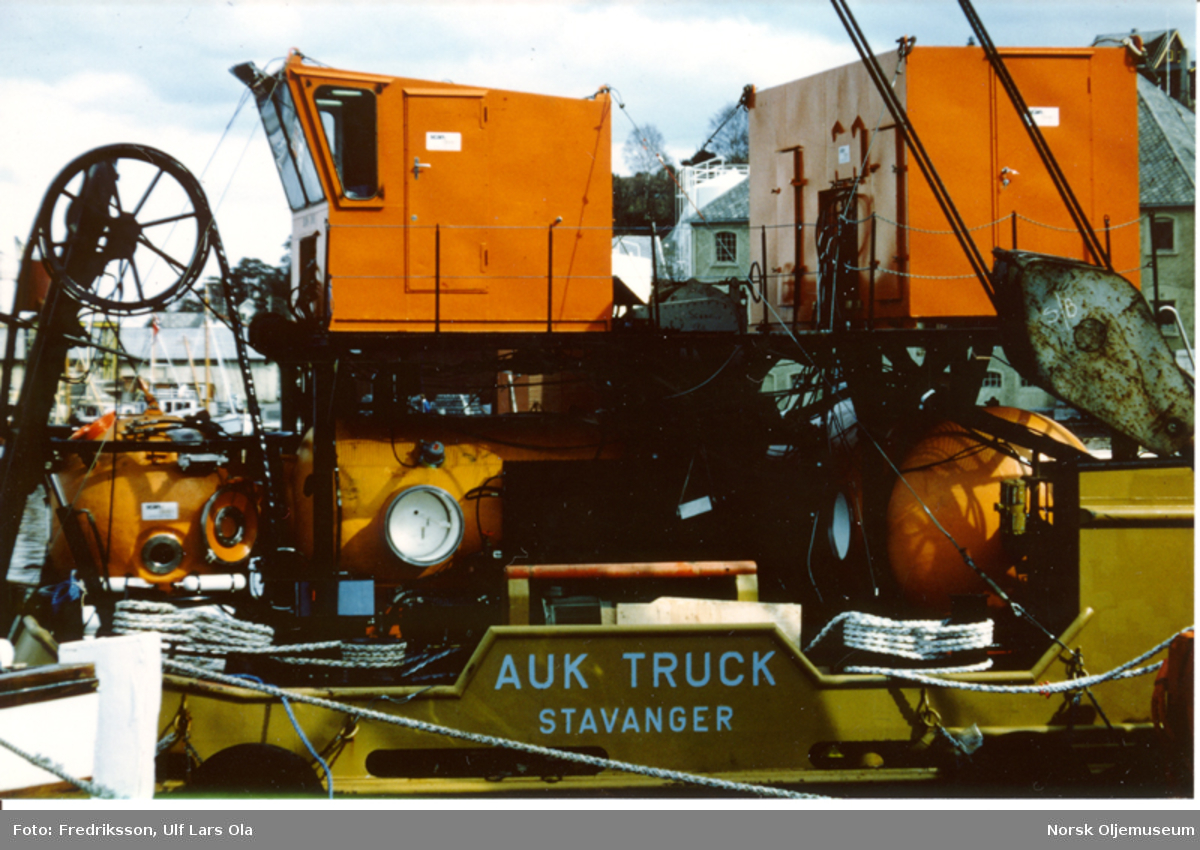 ScanDive sitt dykkersystem på Auk Truck i Åndalsnes.