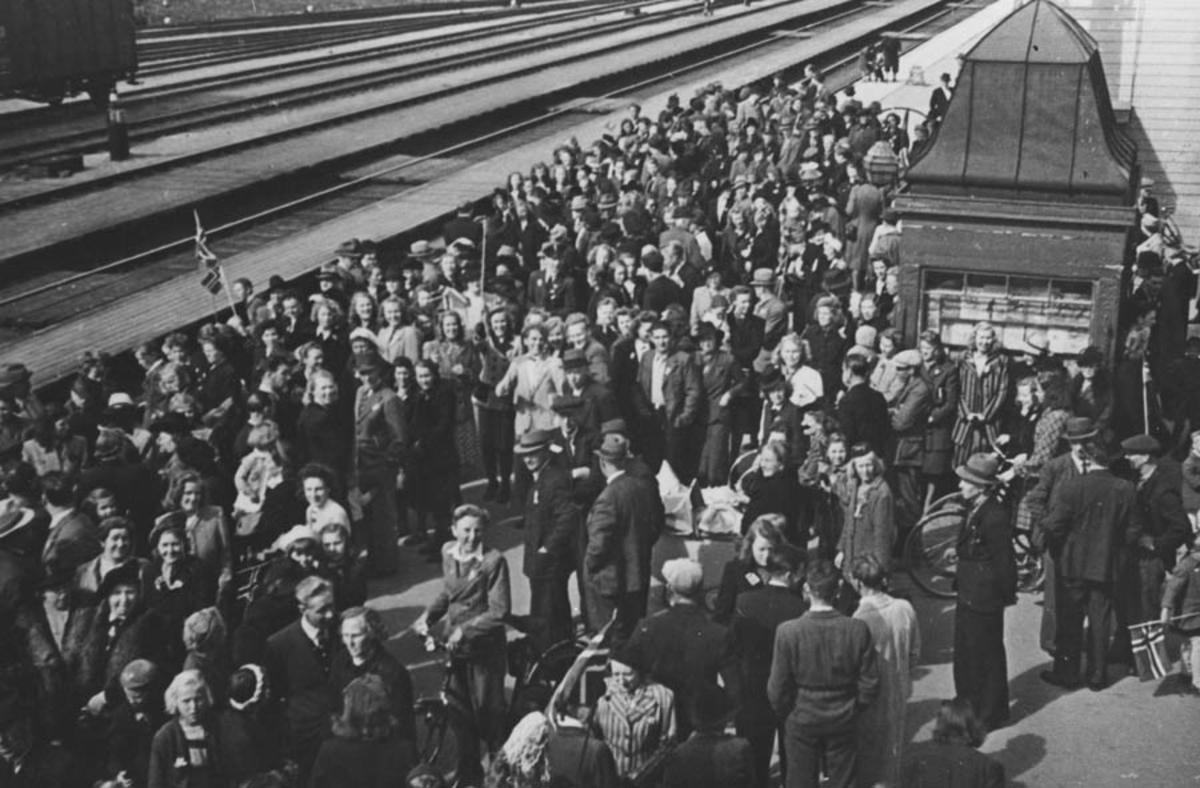 Ski st. Fredsdagene 1945