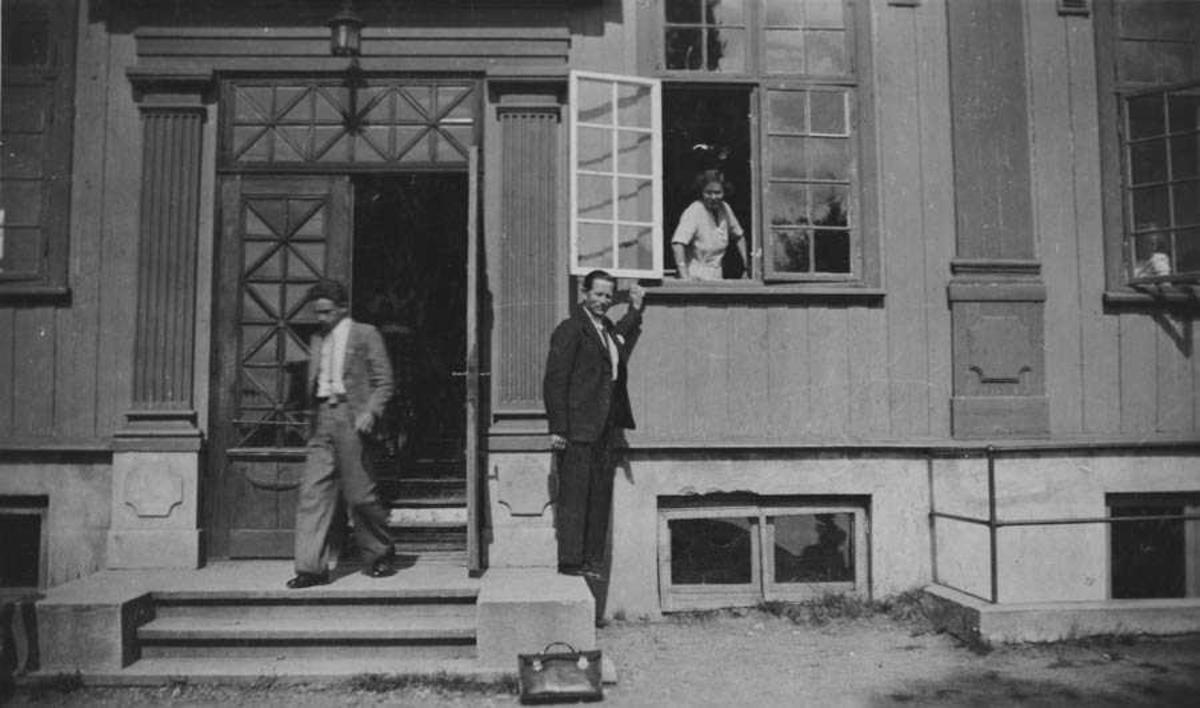Samfundsbygningen . Bildet tatt i september 1937
