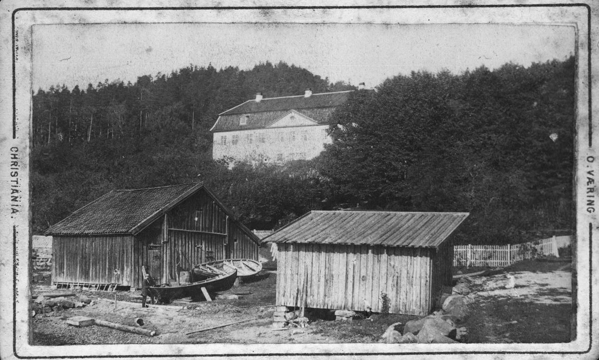 Stubljan gård før brannen i 1911