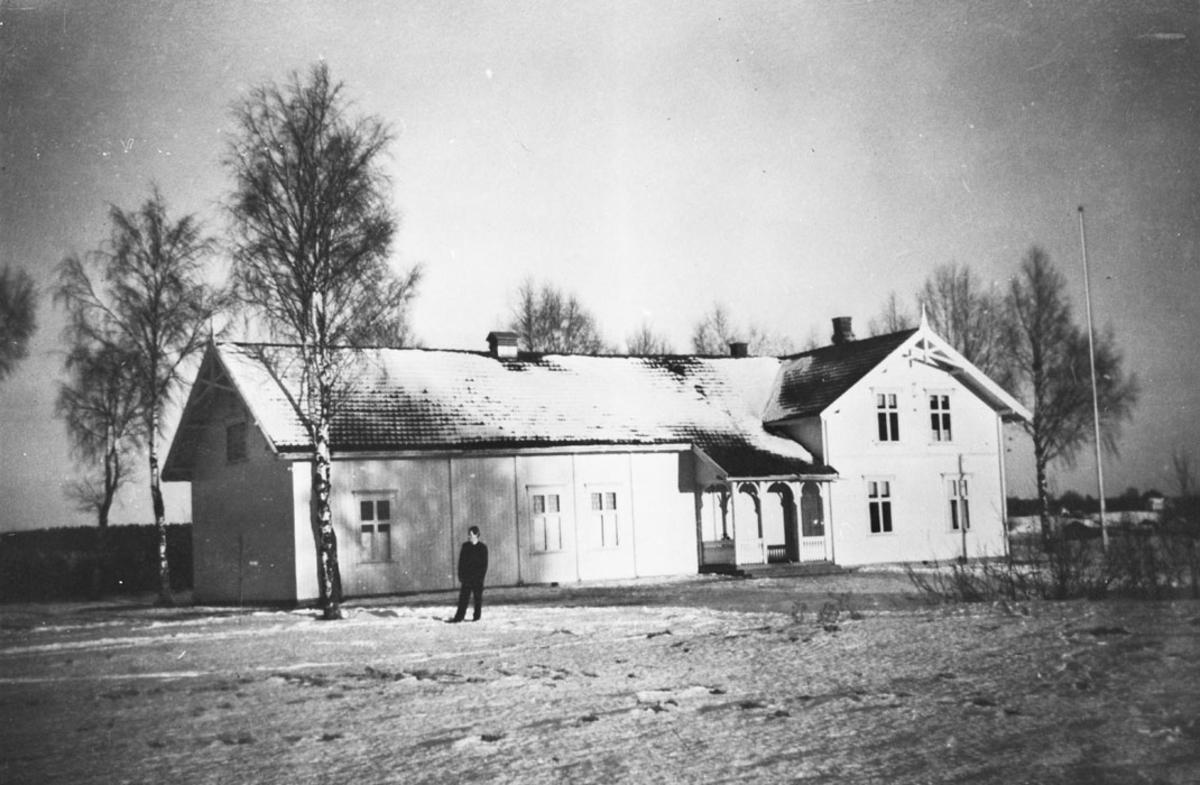 Dalheim, Dalen ungdomslagslokale - vinterbilde