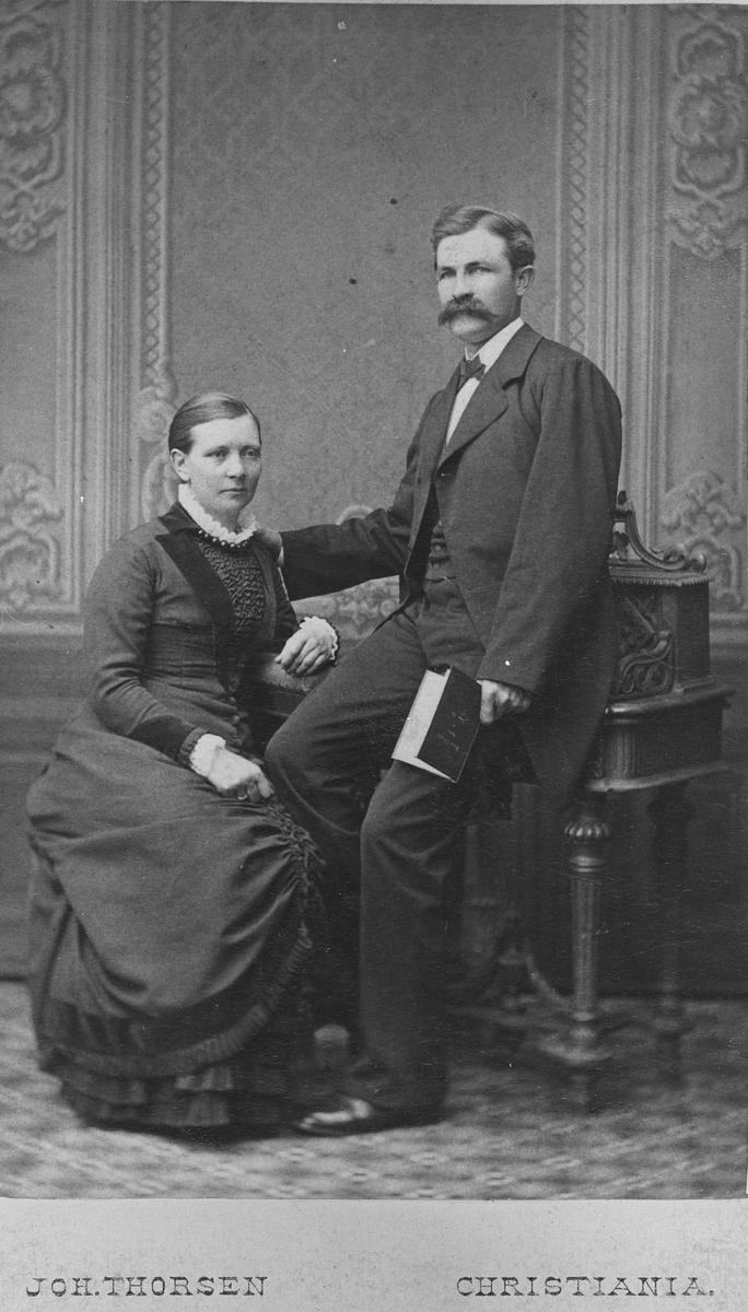 Håkon Bøhn og Laura f. Ihle.