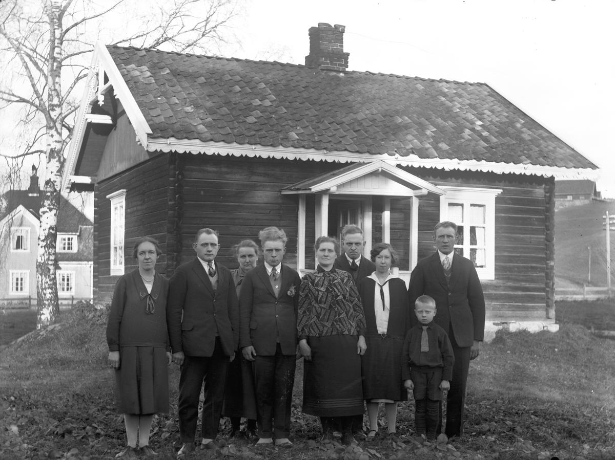 Familien Trondsen. 18.november 1928.