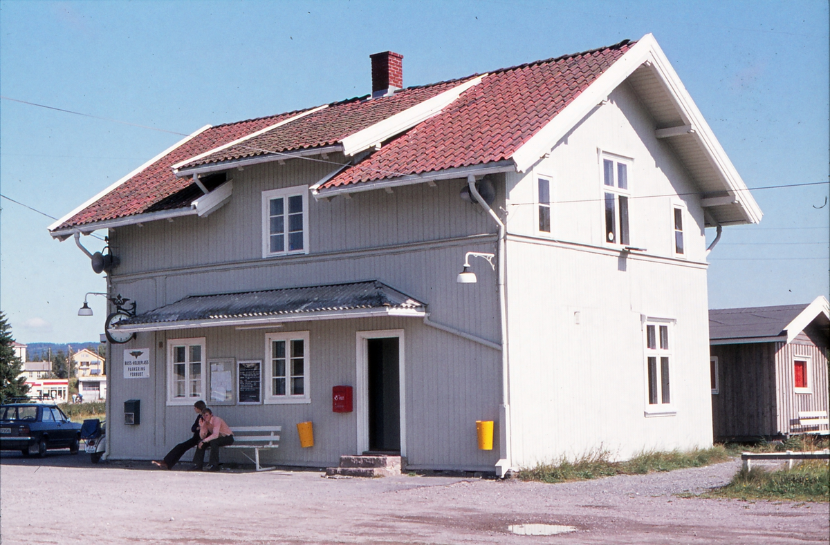 Bjørkelangen stasjon fjorten år etter nedleggelsen.