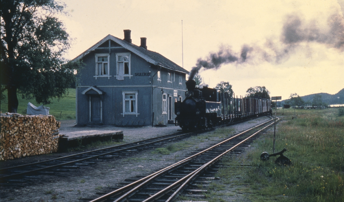 Tog 2058 til Sørumsand på Skulerud stasjon